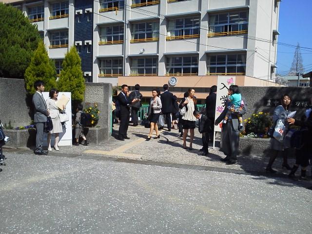 刀根山小学校入学式