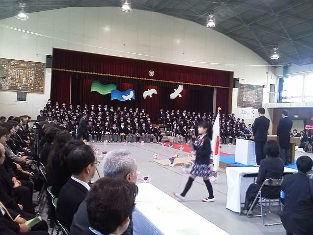 刀根山小学校卒業式