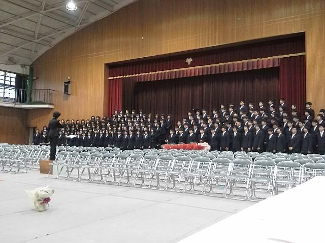 十三中卒業式