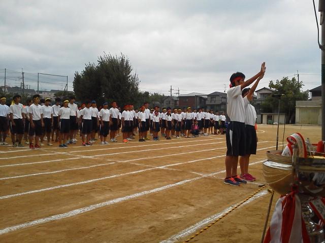豊中市立第2中学校体育祭